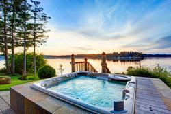 Landscape Architecture - Hot tub