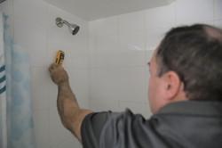 Home Inspection Bathroom Tiles