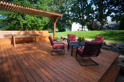Landscape Architecture - Wooden deck