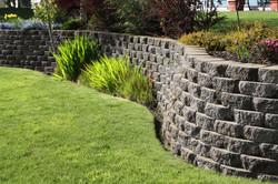 Landscape Architecture - Retaining wall.
