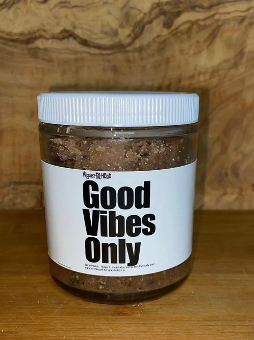 Good Vibes Only Body Polish 8oz