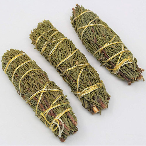 Anointed Juniper Smudge 4""