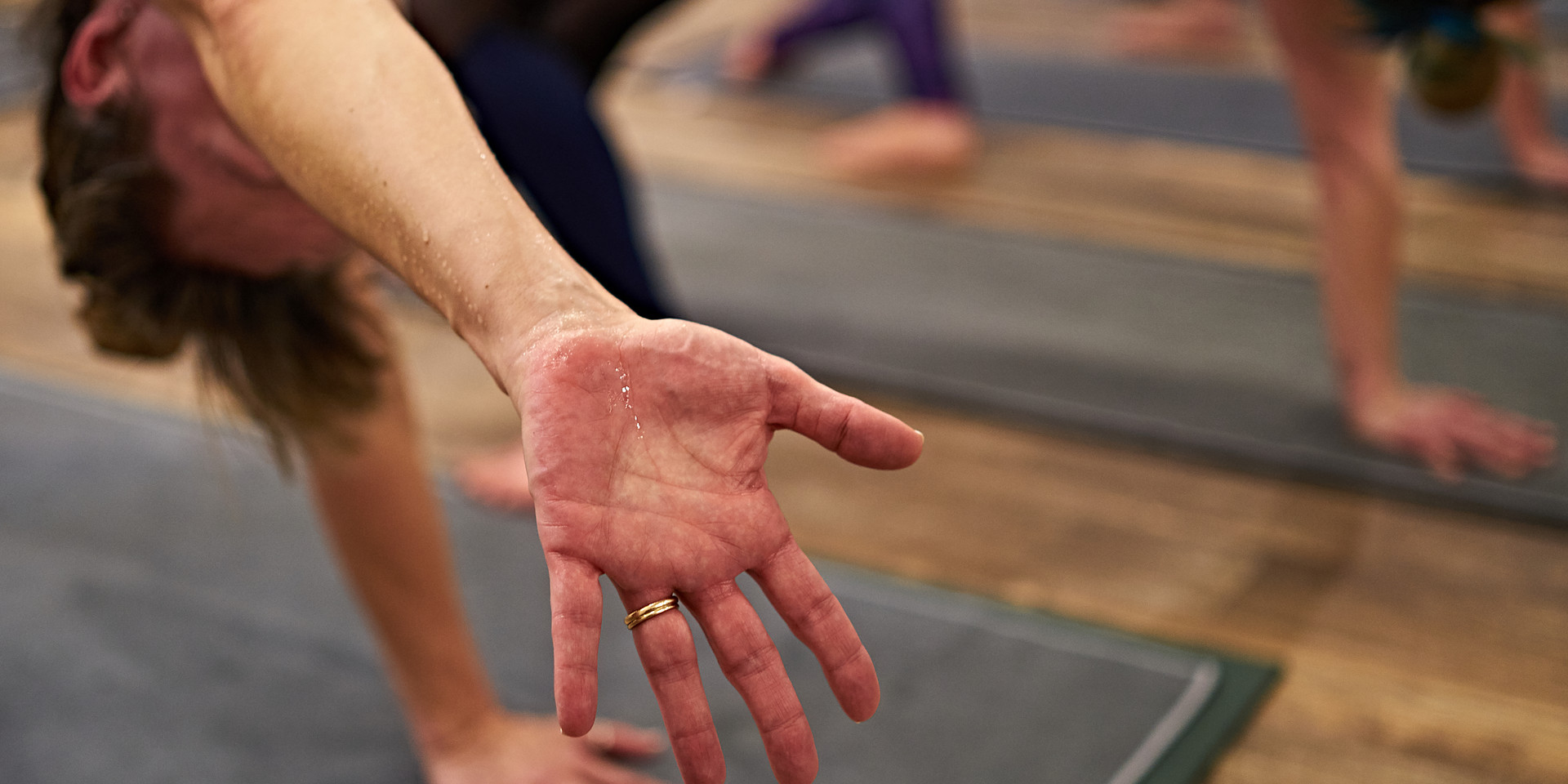 Stretch and sweat