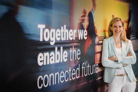 Eva-Maria Huysza, Vice President Human Resources & Communications bei NTT Ltd. in Österreich