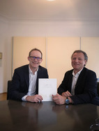 v.l. Hannes Horvath und Rudolf Melzer