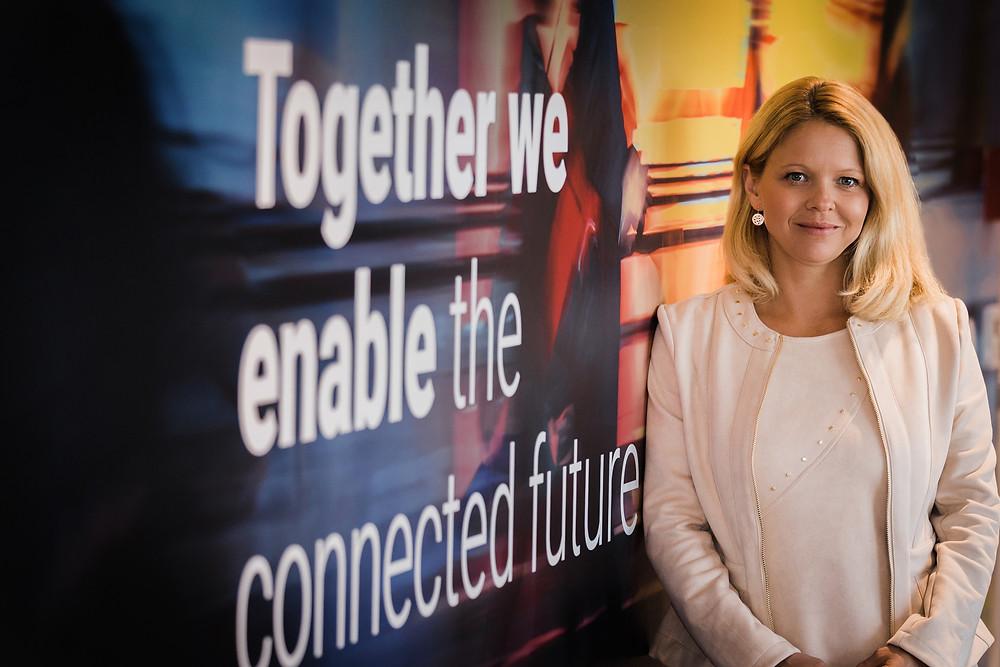 Nora Lawender, Geschäftsführerin von NTT Ltd in Österreich (Credit: NTT; Abdruck honorarfrei!).