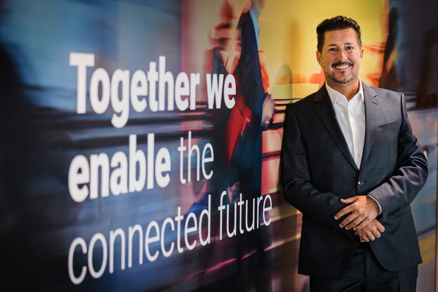 Dieter Ferner, Vice President Sales & Marketing bei NTT Ltd. in Österreich