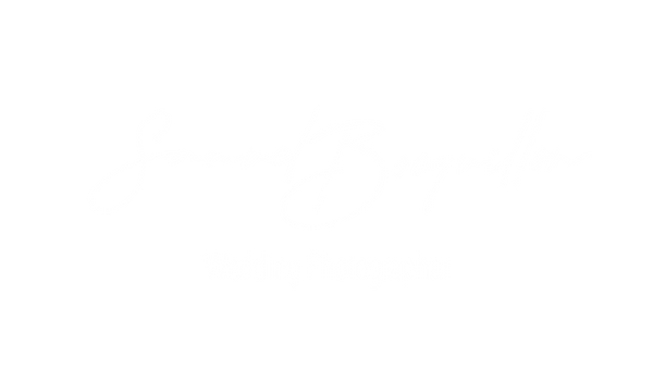Logo wedding photographer blanc plus bas