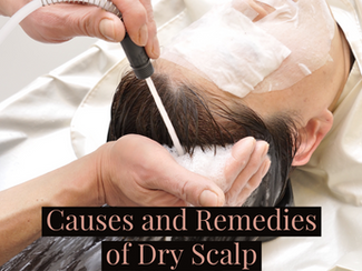Causes and Remedies of Dry Scalp