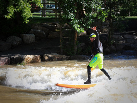 Whitewater Park River Surfing: History, Design, Science and Destinations