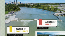 REP's Harvie Passage project wins two awards from the Consulting Engineers of Alberta!