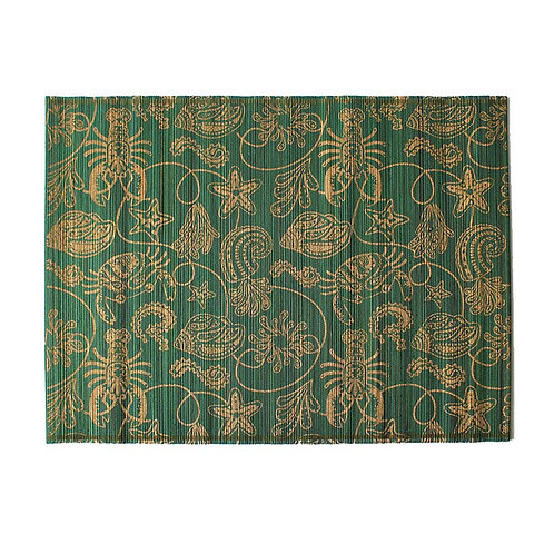 Green Oriental Placemat