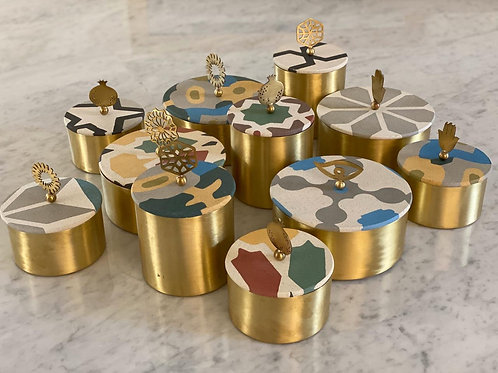 Round Tile Box S