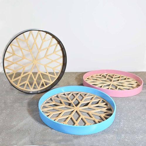 Round Shape Tray