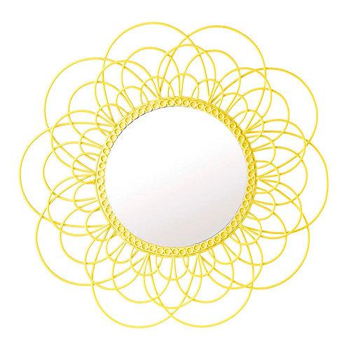 Daisy Yellow Mirror