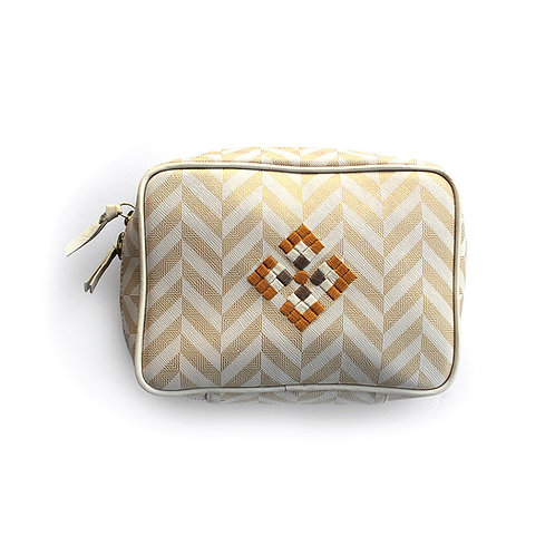 Zigzag Cosmetic Bag