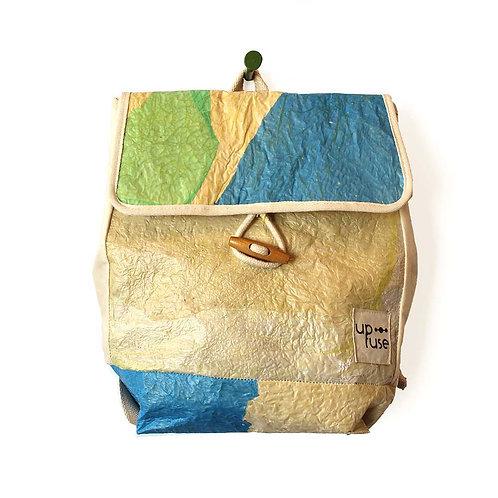 Upcycled Back Bag