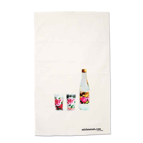Rose Water Delight Tea Towel