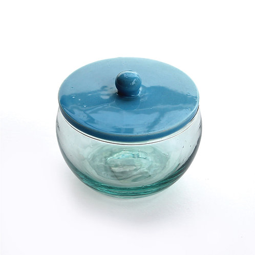Glass Bowl with Ceramic Lid - Small