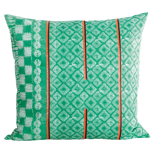 Printed Green Pillowcase