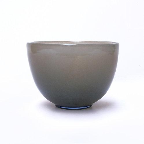 Beige Glass Bowl