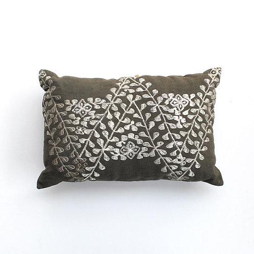 Olive Rectangle Cushion