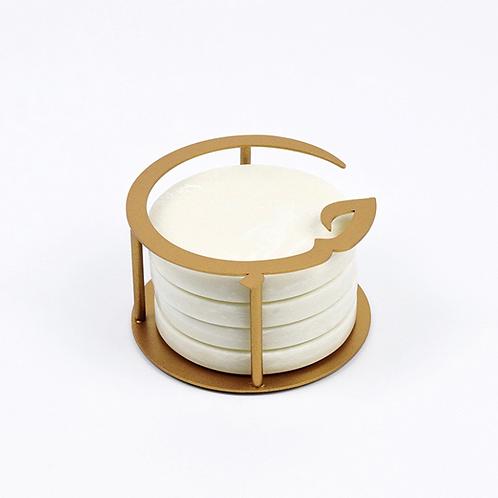 Hub Round Coasters