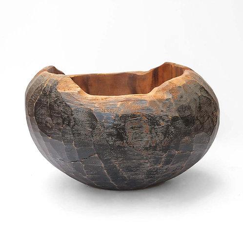 Wooden Vase L