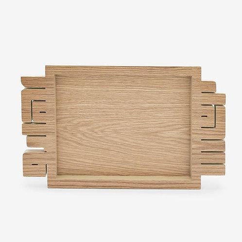 Ahlan Wa Sahlan Tray - Regular / Light wood
