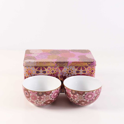 Pink Moucharabieh Bowls Set