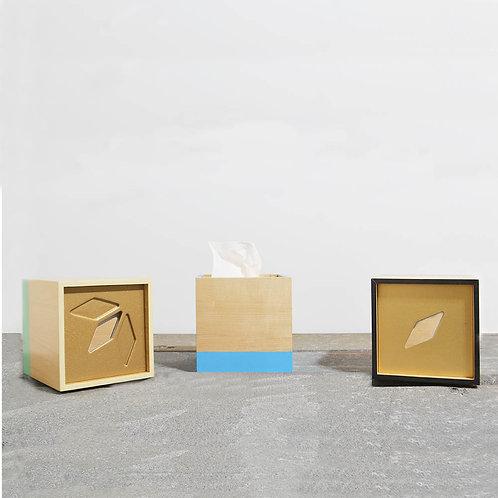 Cube Shape Tissue Box