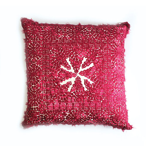 Floor large Red Pillow