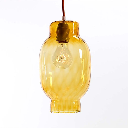 Amber Ceiling Light