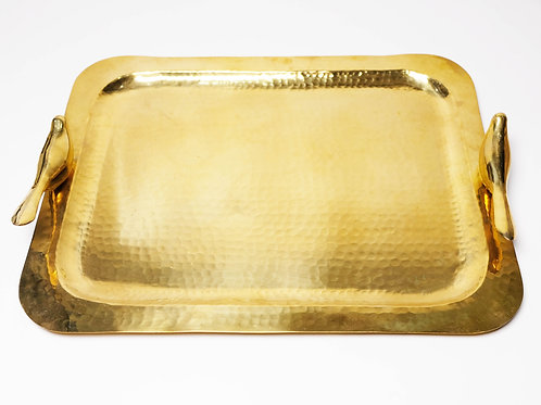 Tray birds gold