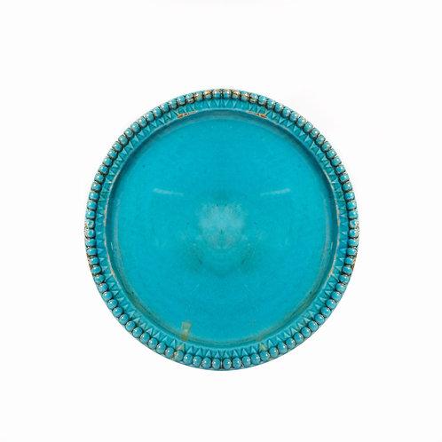 Decorative Turquoise Plate