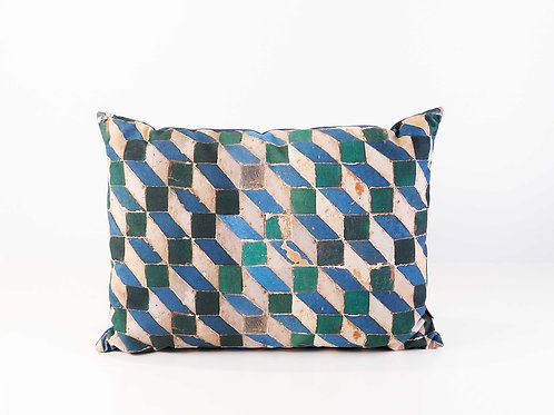Mosaic Pattern Cushion
