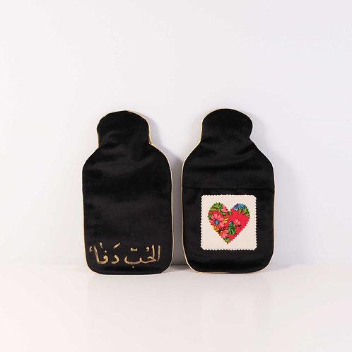 Hot Water Bottles Tiny Black S