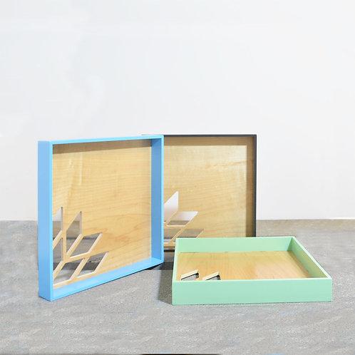 Square Shape Tray