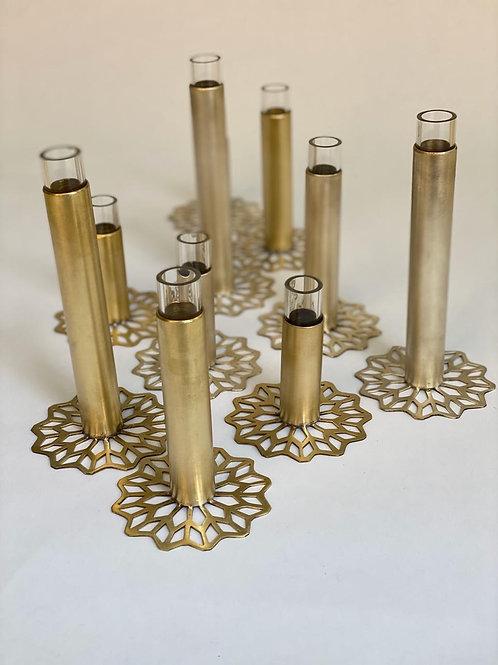 Vase Brass Arabesque L