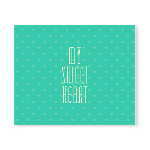 My Sweet Heart - Green