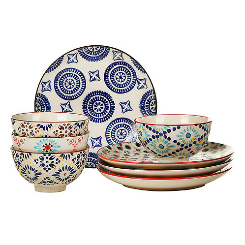 Mosaic Bowl Set
