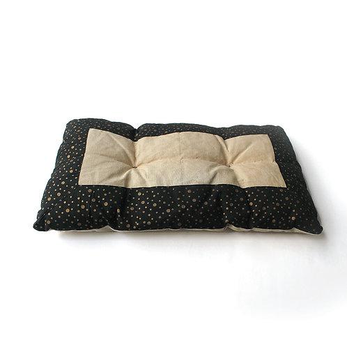 Long Metallic Cushion