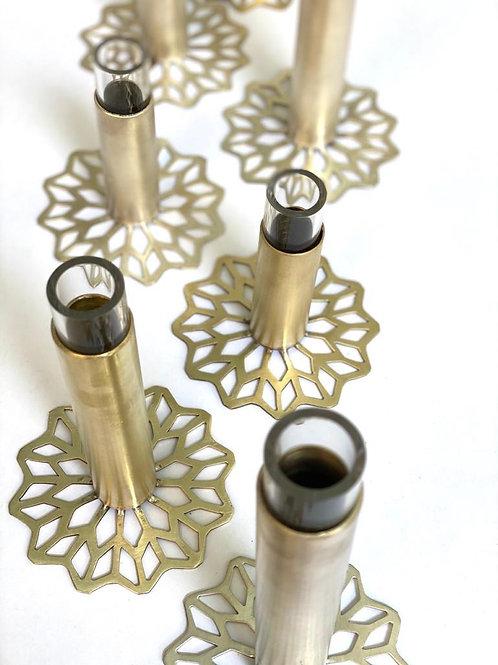 Vase Brass Arabesque M