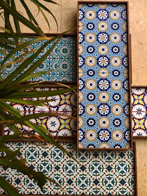 Tile Tray S