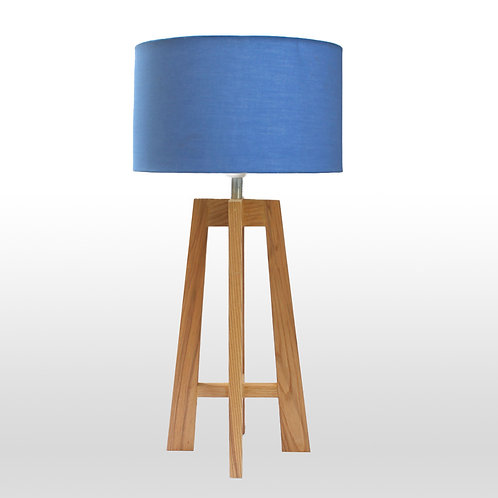 A-Shaped Wooden Lamp