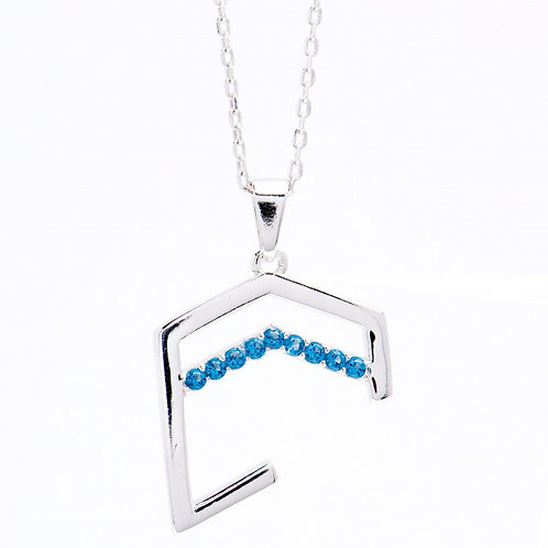 Hajer Necklace Turquoise