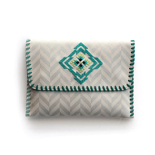 Zigzag Clutch Bag