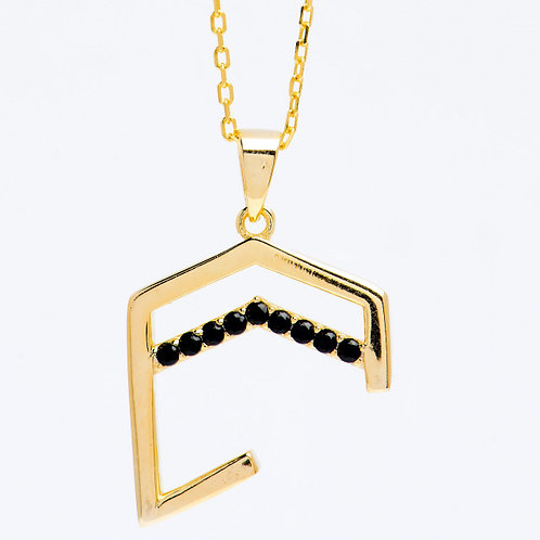 Hajer necklace Gold