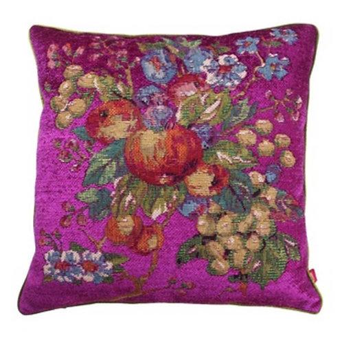 Fushia Pomegranate Cushion