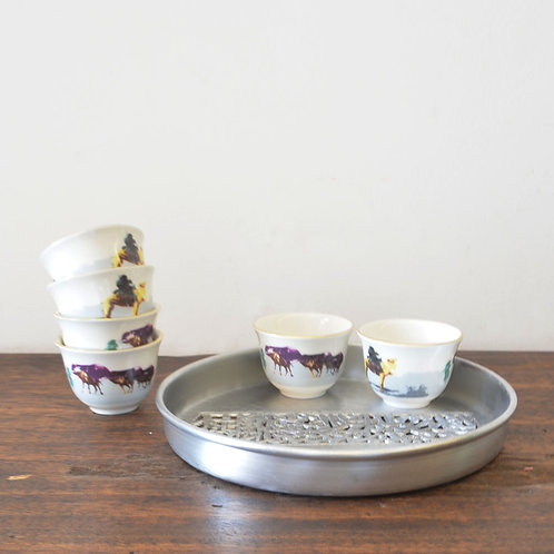Arabic Coffee Cups with Prints